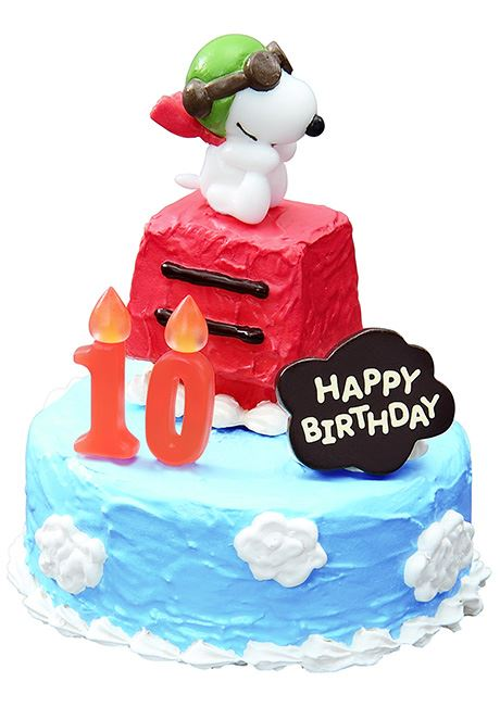 Snoopy Birthday Cake ReMent miniature blind box ReMent