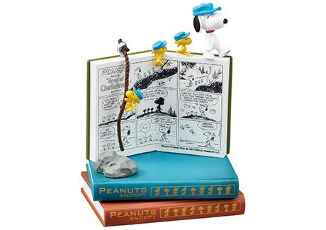 Snoopy SNOOPY NANO BOOK WORLD Drawing Japan import NEW Re-Ment