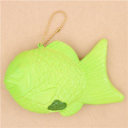 Jumbo Taiyaki Squishy : Sunnys Kitchen green fish taiyaki squishy by NIC - Food Squishy - Squishies - Kawaii Shop modeS4u