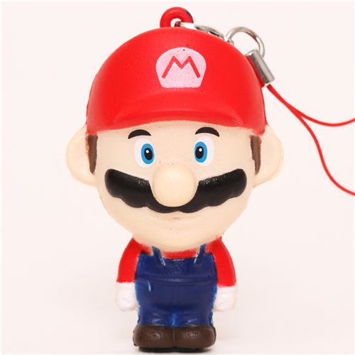 Squishy Super Mario Maker 1 : Super Mario Nintendo squishy cellphone charm - Food Squishy - Squishies - Kawaii Shop modeS4u