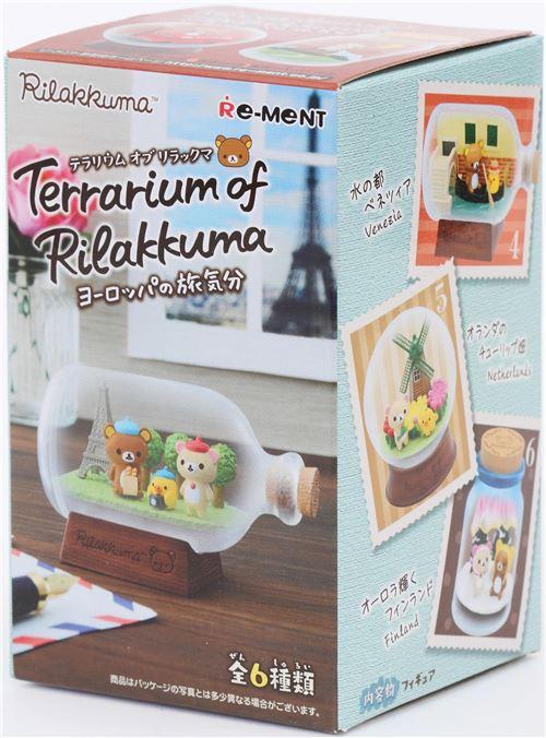 """Rilakkuma Terrarium of Rilakkuma at Europe /"""" Netherlands  /"""" Japan import NEW"""