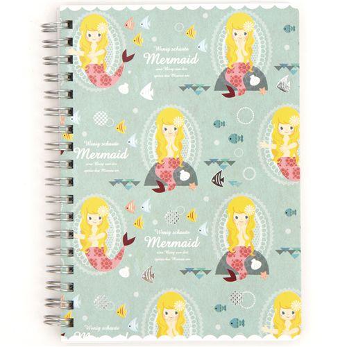 The Little Mermaid Ring Binder Notebook B6
