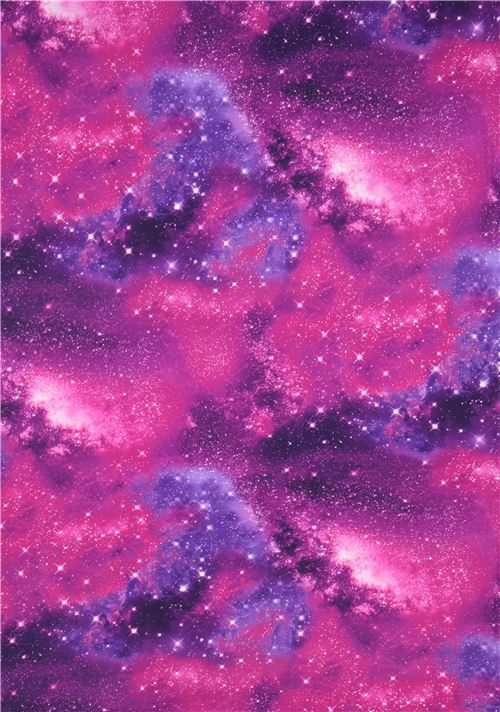 3869a50963c Timeless Treasures purple space knit fabric - modeS4u