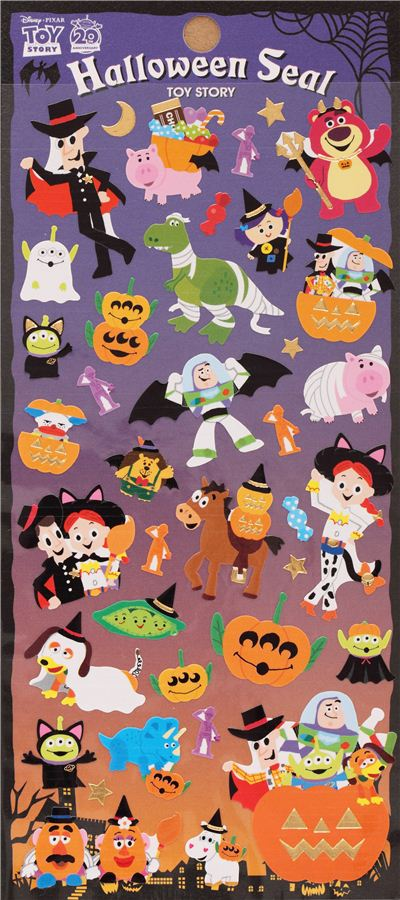 Toy Story Sticker Chart : Woody stickers kamos sticker