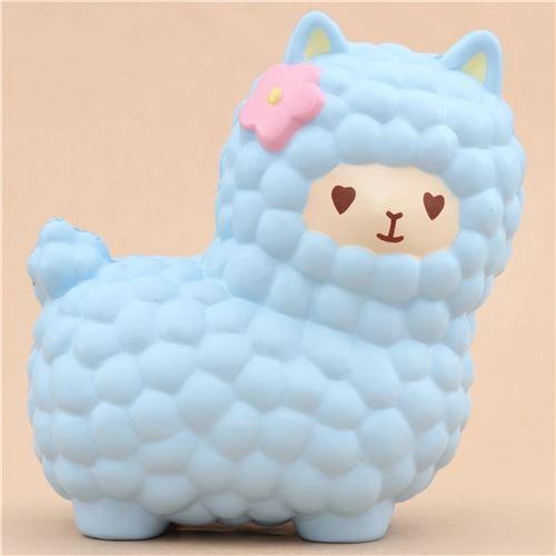 Adams Squishy Animals : Vlampo jumbo big blue alpacasso alpaca squishy kawaii - Animal Squishy - Squishies - Kawaii Shop ...
