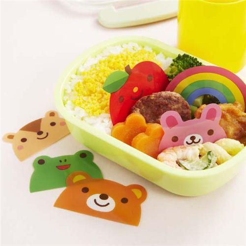 Animal Rainbow Baran Divider Sheets For Bento Box Lunch 3