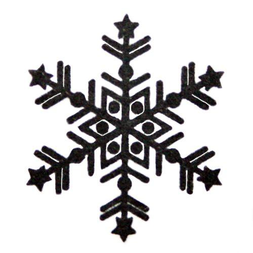 Black Snowflake Tattoo Designs