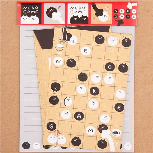 Juego Papel De Carta Beis Juego De Mesa Gatos De Q Lia Japon