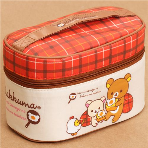 big rilakkuma bear egg bento set lunch box bag san x bentos bento boxes kawaii shop modes4u. Black Bedroom Furniture Sets. Home Design Ideas