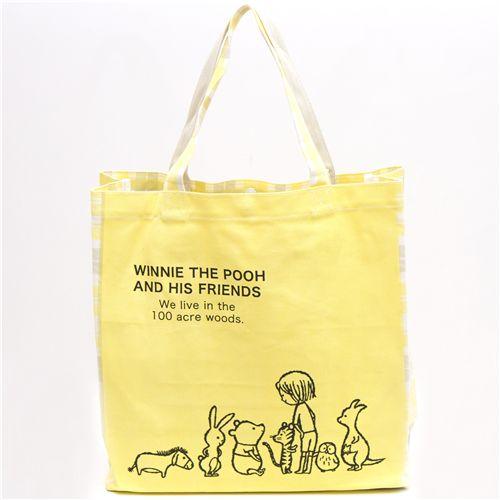 Winnie Pooh de the Shinzi bolso Bolsos grande Katoh de tela de gnIXwxRY