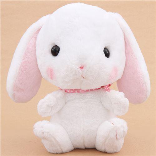 Big White Bunny Rabbit Poteusa Loppy Plush Toy From Japan Bunny