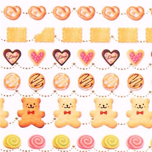 Biscuit pastry sweet stickers from japan 1