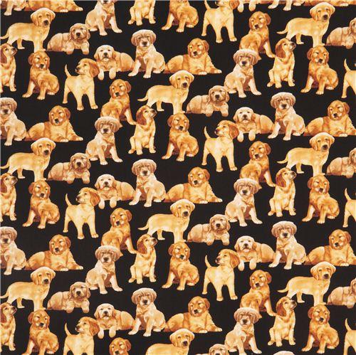 Dog Breed Fleece Fabric