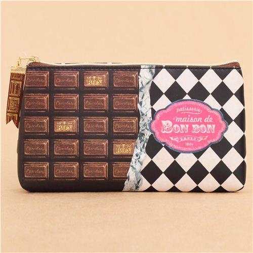 Petite trousse à stylos - Chocolat ywIUGT