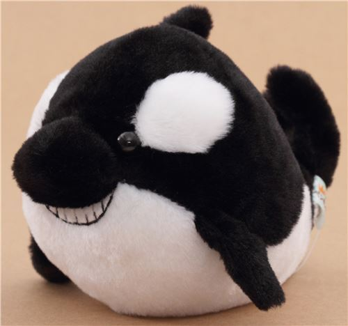 Black And White Killer Whale Plush Toy From Japan Modes4u
