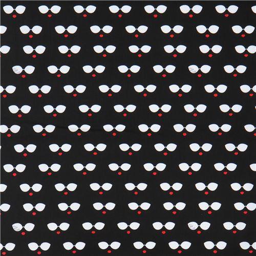 Black Fabric White Sungles Red Lips Ink Arrow 3