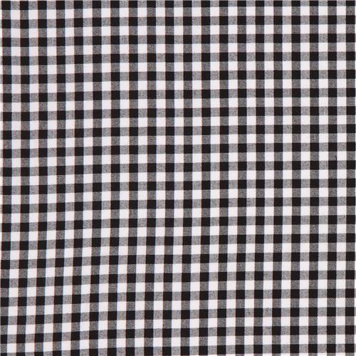 schwarz wei karierter robert kaufman stoff carolina gingham punkte streifen karo stoffe. Black Bedroom Furniture Sets. Home Design Ideas