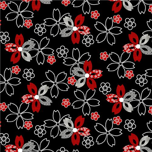 Black white dot red flower fabric by studioe essentials 10 black white dot red flower fabric by studioe essentials 10 2 mightylinksfo
