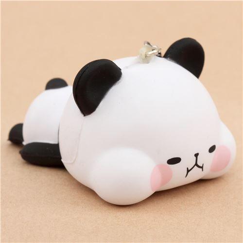 Squishy Di Asemka : black white panda animal lying down squishy kawaii - Animal Squishy - Squishies - Kawaii Shop ...