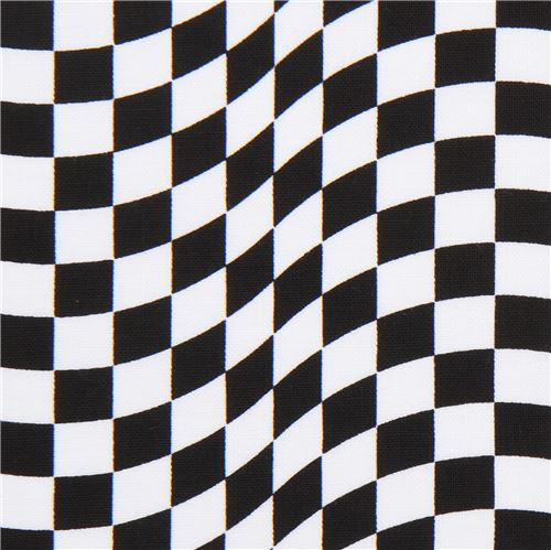 black white racing checkered flag fabric by timeless treasures
