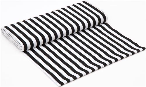 black white stripe fabric robert kaufman panache 3