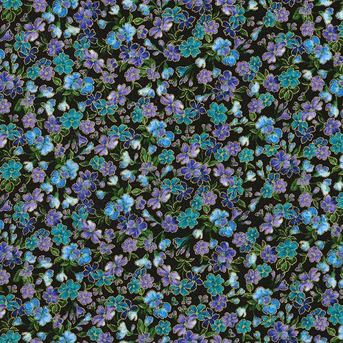 blue purple flower