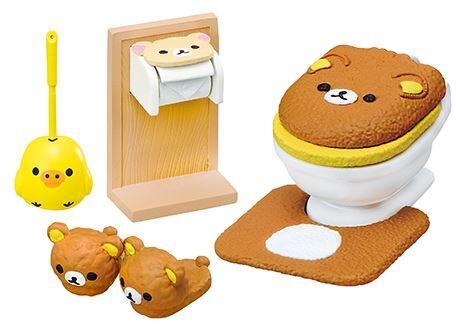 Re-Ment Miniature Sanrio Rilakkuma Wash Room Set # 5 Bath