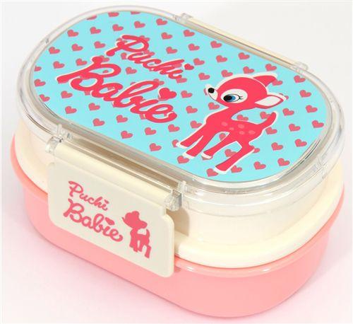 blaue puchi babie bambi bento box lunch box aus japan bentos bento boxen kawaii shop modes4u. Black Bedroom Furniture Sets. Home Design Ideas