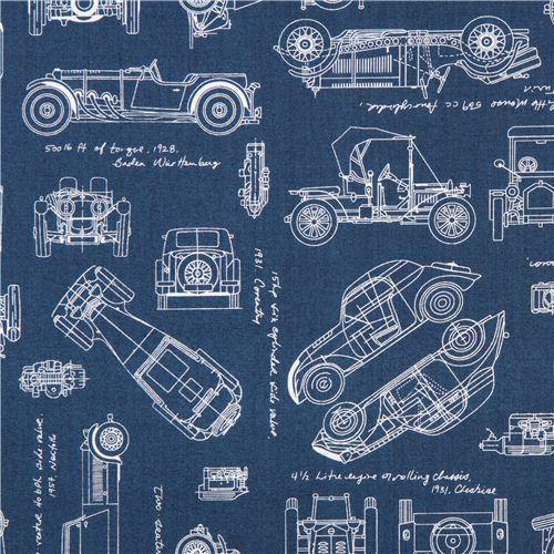 Blue vintage blueprints car draft plan fabric robert kaufman usa blue vintage blueprints car draft plan fabric robert kaufman usa 1 malvernweather Gallery