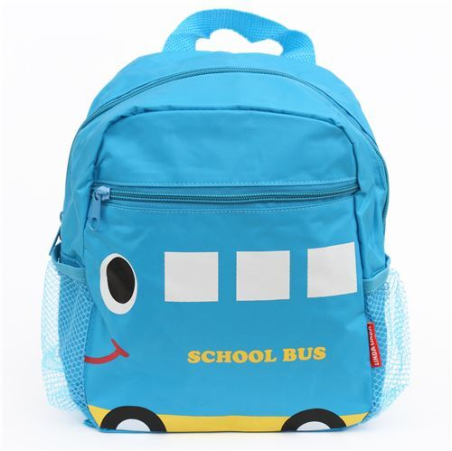 blue school bus childrens backpack school bag - modeS4u Kawaii Shop 5e80ff828d
