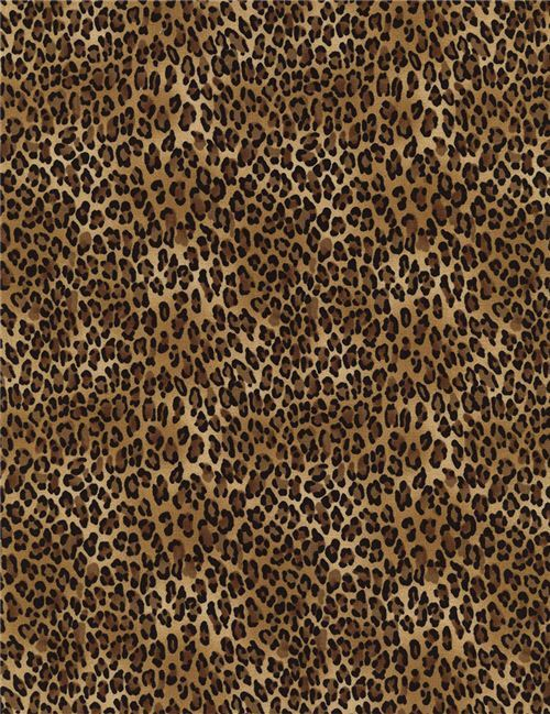 Leopard Print Fabric brown black small leopard print fabric timeless treasures , animal