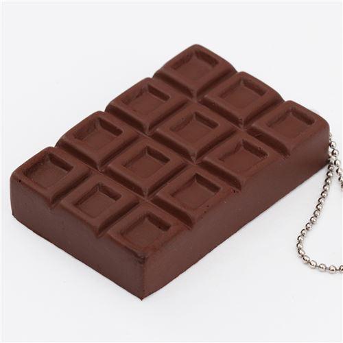 Squishy Cracking Chocolate Bar : brown chocolate bar cracking squishy by Geiiwoo - Food Squishy - Squishies - Kawaii Shop modeS4u