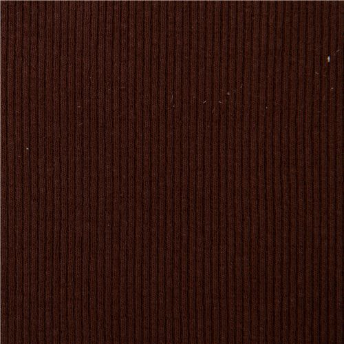 9a78cbeec38 brown cuffing tubular ribbed knit fabric - modeS4u