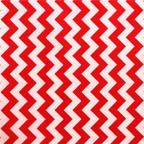 chevron muster riley blake laminat stoff rot wei punkte streifen karo stoffe kawaii. Black Bedroom Furniture Sets. Home Design Ideas