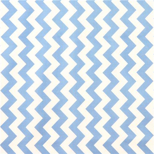chevron muster riley blake laminat stoff blau wei. Black Bedroom Furniture Sets. Home Design Ideas