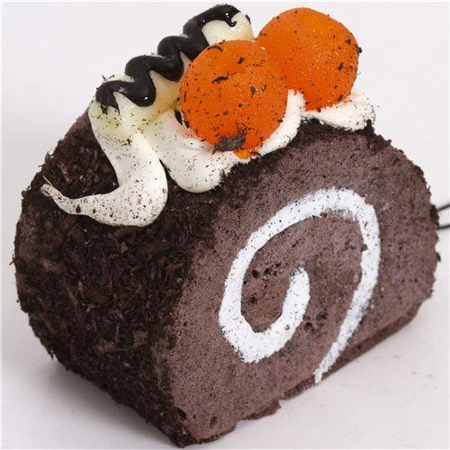 Squishy Cake Food 52 : chocolate cake with sprinkles squishy cellphone charm - Food Squishy - Squishies - Kawaii Shop ...