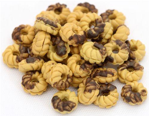 chocolate cookie deco kawaii 5pcs - Miniature Items - Hobby ...