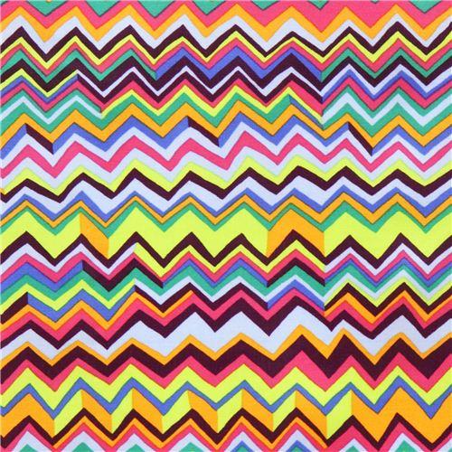 Tissu Lamin 233 Westminster Fibers Multicolore Chevron
