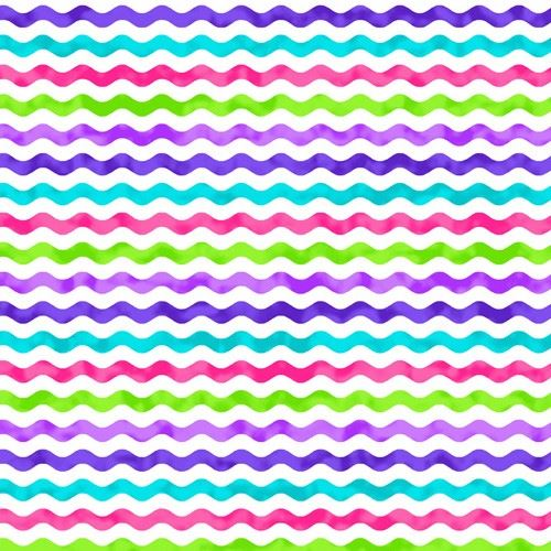 pink purple and green
