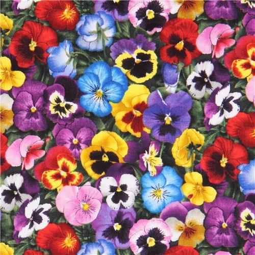 violas flower how to draw