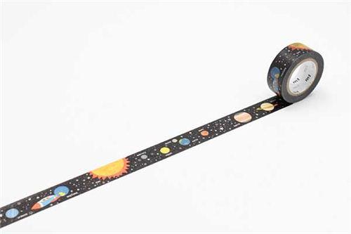 Nastro coprente mt washi decorativo galassia spazio universo washi tape nastri adesivi - Nastri decorativi natalizi ...