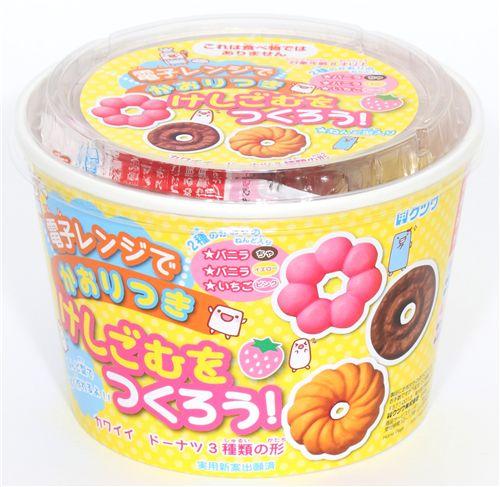 Cute diy eraser making kit donuts from japan diy sets for Radiergummi selber machen
