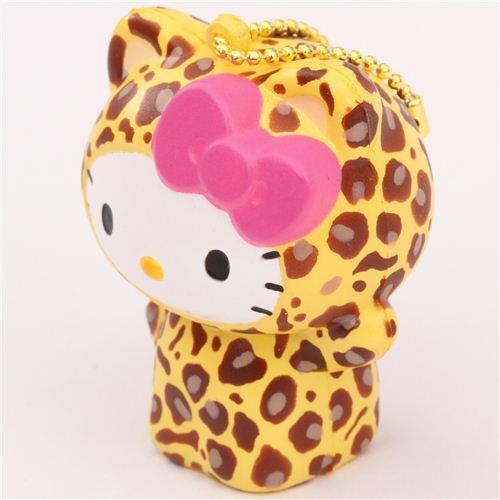Squishy Quiz : cute Hello Kitty leopard squishy charm kawaii - Hello Kitty Squishy - Squishies - Kawaii Shop ...