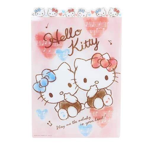 Tapis D Ecriture De Bureau Avec Hello Kitty Des Notes De Musique Des Coeurs Modes4u