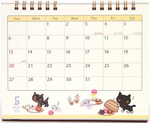 Laurdiy Calendar : Cute desk calendars design ideas