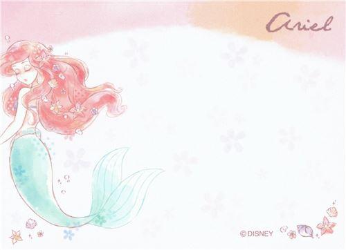 Cute Little Mermaid Fairy Tale Mini Note Pad Memo Pads