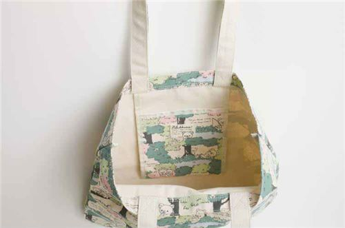 Cute Rilaka Tree Natural Color Canvas Tote Bag By San X From An 2