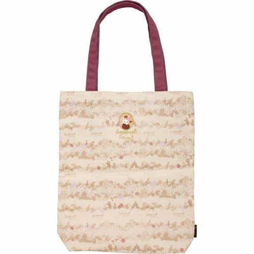 6adc5855848 cute Sentimental Circus natural color canvas tote bag by San-X from ...