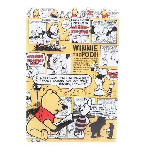 Adorable Tapis D écriture De Bureau Avec Winnie L Ourson Et Des Cases De Bd