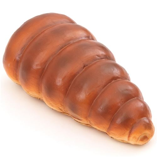 cute big chocolate cat cornet bread bun scented squishy by puni maru - food squishy